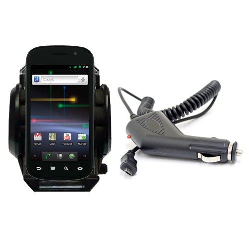 Neu XYLO Car Kit: Saugnapfhalterung und Autoladegerät für Samsung Nexus S (i9020) Google Handy