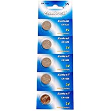 5 X CR1620 3V Battery Button Cells AKA BR1620 5009LC CR 1620 Batteries