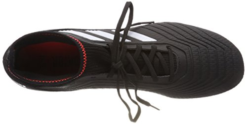 adidas Predator 18.3 SG, Chaussures de Football Homme Noir (Core Black/ftwr White/solar Red)