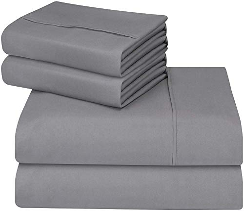 Utopia Bedding 4 Piece Bed Sheet...