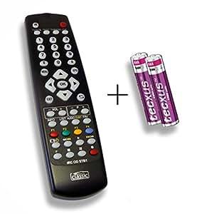 Télécommande de rechange spécialement conçu pour digitall World Meuble de 4000E dlze® Edition avec piles