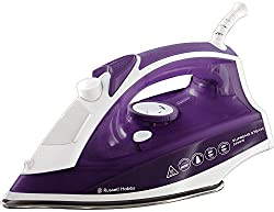 Russell Hobbs Supreme Steam Traditional Iron 23060, 2400 W - Purple/White