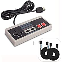 WADEO Manette pour Nintendo NES Classic Mini, Manette NES Classic Mini Edition de jeu NES avec 2 cordons de rallonge 3M / 9.84FT [nintendo_NES] …
