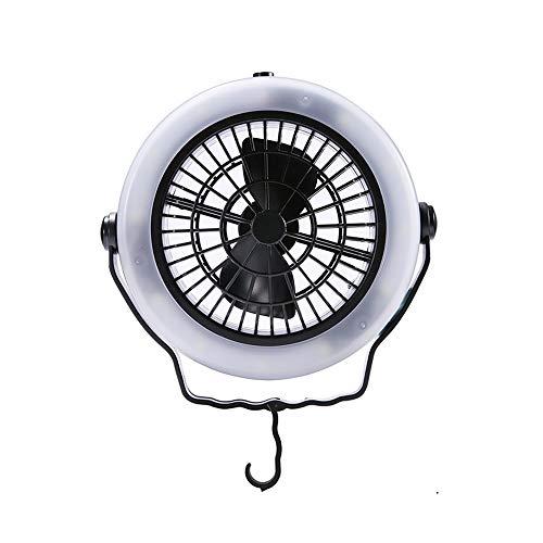 Cikuso Zelt Ventilator Licht Led Camping Wandern AusrüStung USB Powered Au?en Decken Leuchte Camping AusrüStung - Zelte Und Camping-ausrüstung