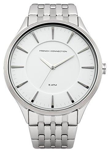 French Connection–Reloj de pulsera hombre Cavendish analógico de cuarzo Acero inoxidable fc1166sm