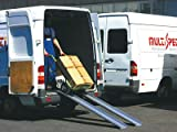 Alu Verladeschiene / Auffahrrampe / Auffahrschiene 3000x150mm mit 175 kg Tragkraft (pro Paar)