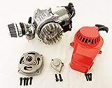 Motore monocilindrico per Minimoto/Mini Quad, completo 49cc, a 2tempi