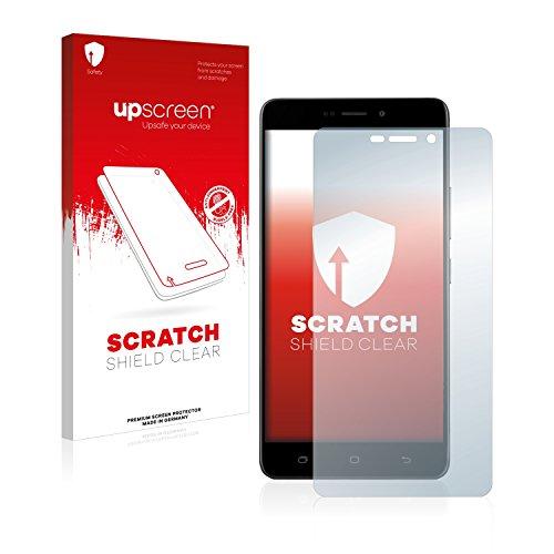 upscreen Scratch Shield Schutzfolie kompatibel mit Medion Life X5520 (MD 99607) - Kristallklar, Kratzschutz, Anti-Fingerprint