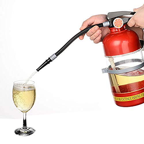 SODIAL 2L Fire Extinguisher Wine Drink Dispenser Party Beer Water Dispenser Beer Barrels Bar Beverage Liquor Drink…