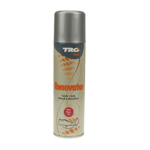 TRG Renovator Wildleder Nubuk Microfaser Pflegespray Imprägnierspray (rot)