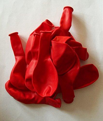 50 rote-Latex-Ballon-Luftballon-s-Kinder-Geburtstag-Hochzeit-Durchmesser 25 cm ,Herkunft Spanien ,nicht Gesundheitsschädlich vom Sachsen Versand