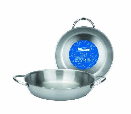 """Ibili """"Prisma Round Dish, Silver, 14 cm"""