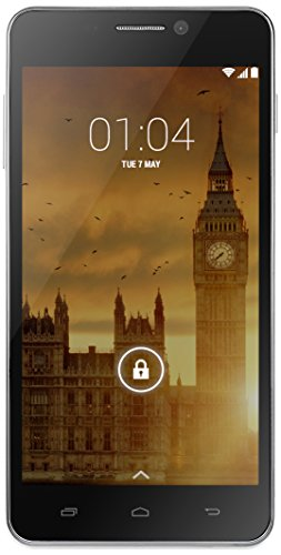 Kazam Trooper 450L 8GB 4G Silver - Smartphone (SIM única, Android, MicroSIM, GSM, UMTS, LTE)