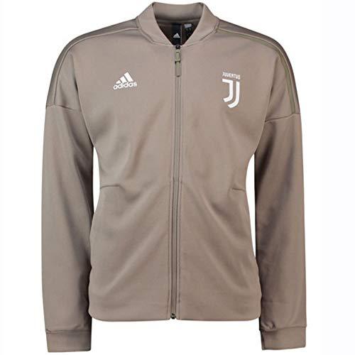 adidas Juve Zne KN, Giacca Sportiva Uomo, Clay/Bianco, L