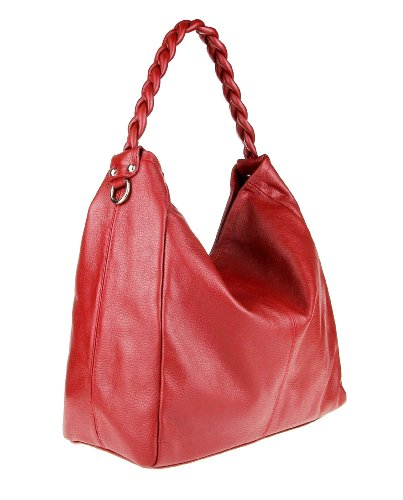 Made Italy , Cabas pour femme 50x34x16 cm Rouge - Rouge