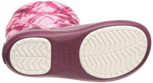 crocs Damen Crbndwtrbt Pd Stiefel Violett (Plum)