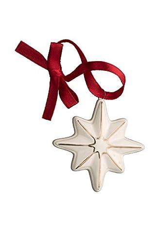Belleek Living Mini Christmas Star Ornament,