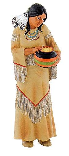 Bullyland 80684 - Spielfigur, Indianerfrau, ca. 9,5 cm