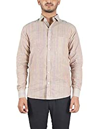 Bihar Khadi (A Bihar Govt. Enterprise Men's Shirt (Multi-Colored, Small)