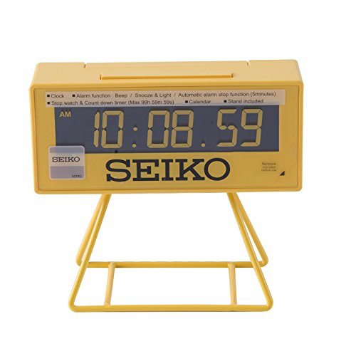 Seiko Clocks - QHL062Y - Réveil - Digitale -...
