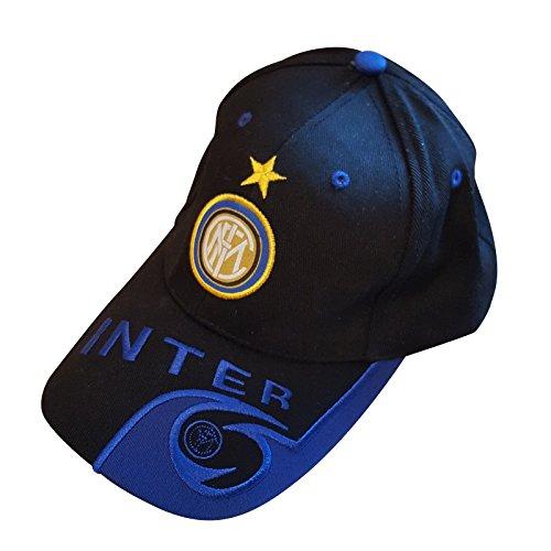 Club de fútbol Inter Milan gorra de béisbol unisex, sombrero y llavero de metal con el pegatina polimérico