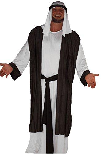 Arabische Deluxe Krippe drei Könige Kostüme Man (Man Wise 3 Kostüme)
