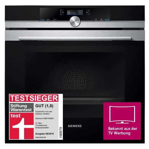 Siemens iQ700 HB674GBS1 Backofen A+ (3.6 kW, 4D Heißluft, Ober-/Unterhitze, Edelstahl) Titan-Glanzemail anthrazit - 4