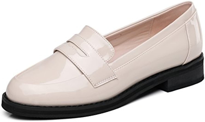 La Versión Coreana De Los Zapatos De La Primavera,Le Fu, Cuero De Patente Zapatos De Las Mujeres,Zapatos De Corte...