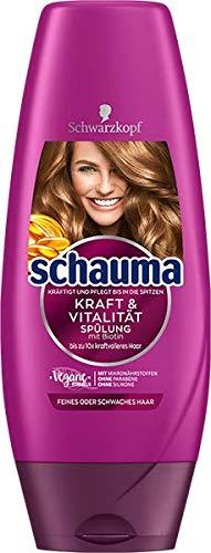 Schwarzkopf Schauma Spülung Kraft & Vitalität, 1er Pack (1 x 250 ml)