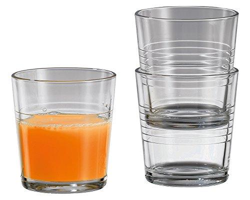 12 x Trinkglas / Saftglas / Wasserglas / Limoglas   Inhalt 240 ml (0,64 ? / Stück)