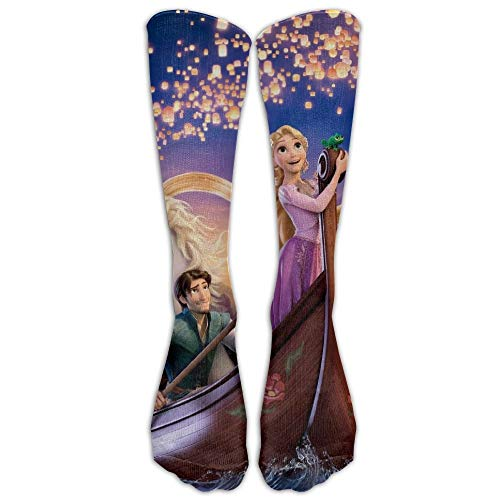 Champion Athletic Sneakers (HNJZ-GS 522-Tangled Boat Scene Cosply Socken Funny Champion Athletic Leggings Kniehohe Strümpfe)