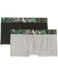 Calvin Klein Boy's Boxer Shorts Pack of 2