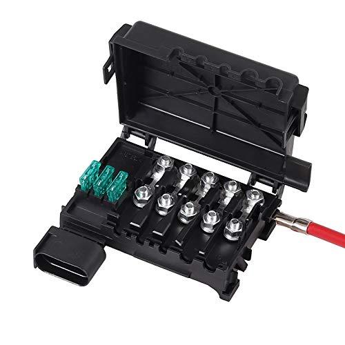 AUTOUTLET Sicherungskasten Batteriedose für VW AUDI JETTA BORA GOLF MK4 99-04 1J0937550A 1J0937550B
