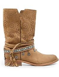 dc86c602f Amazon.es  Marrón - Botas   Zapatos para mujer  Zapatos y complementos