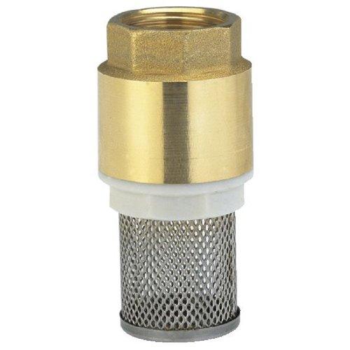 7222-20 Messing-Fußventil, 42 mm (G 1 1/4)-Gewinde