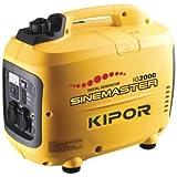 Kipor IG 2000 Stromgenerator 2.7PS 2kW 3.7l Tank Generator Inverter Stromaggregat Werkzeug
