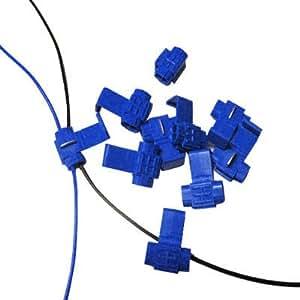 Kabelclip, Passen Sich Durchmesserlinie: 0.8-2.0Mm (100Pcs In Einer Verpackung, Ist Der Preis Für 100 Stück), Blau