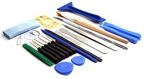 Preisvergleich Produktbild ACENIX Universal Reparaturset–23in 1Repair Opening Tools Kit Set für iPhone 3/3GS/4/4S/5/5S Samsung. Nokia
