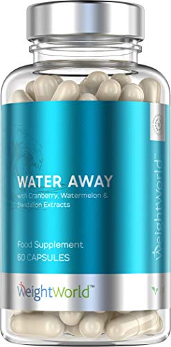 Powerful 100% Natural Diuretic - Water Away - Eliminates water retention - Helps to lose weight quickly