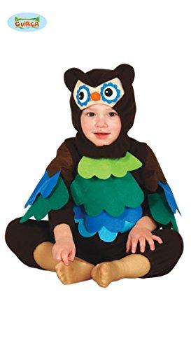 Baby Eule Kinder Kostüm Fasching, Größe: 12 - 24 (Eule Baby Kostüme)