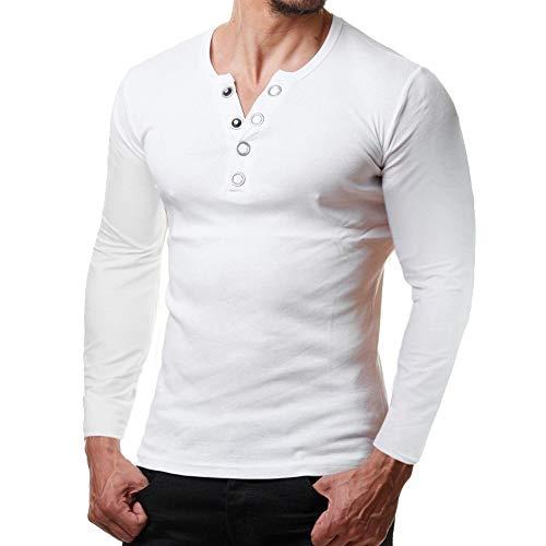befdd39ccfa533 Styledresser promozione Magliette Sportivi da Uomo,T Shirt Uomo Bianca  Camicia da Uomo con Scollo