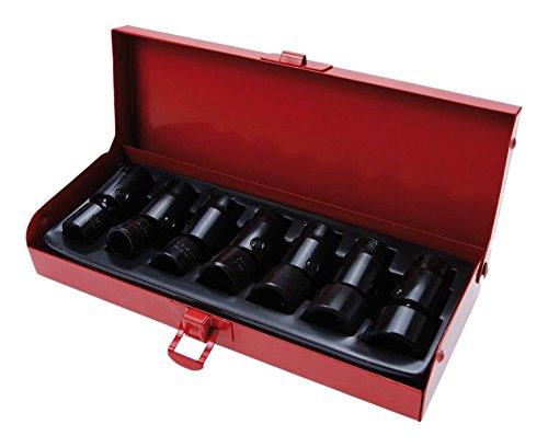Bgs Force de Rotule Inserts, 10 mm, 10–19 mm, 7 pièces, 1 pièce, 6252