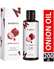 Makhai Onion Hair Oil for Hair Growth with 21 Vital Oils an