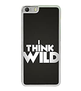 I think Wild 2D Hard Polycarbonate Designer Back Case Cover for Micromax Canvas Knight 2 E471