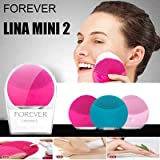 EG ENTERPRISE Facial Cleansing Brush,Electric Silicone Face Massager Brush Waterproof Anti-Aging Skin Cleanser
