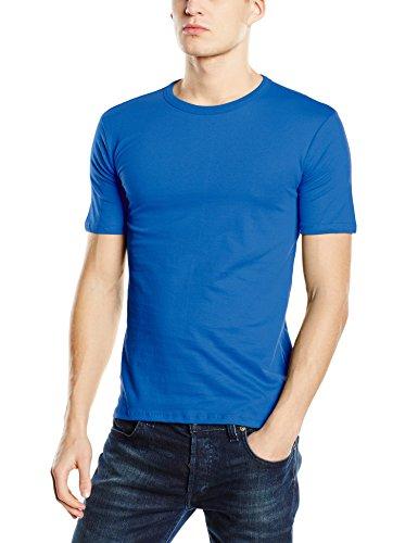 Stedman Apparel Herren T-Shirt Morgan (Crew Neck)/st9020 Premium Blau - King Blue