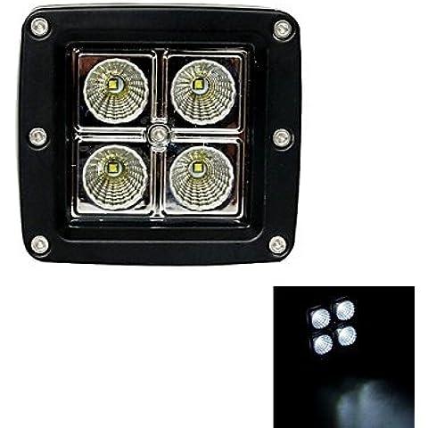 LIROOT12W Tipo/F Flood 6000K 4-Cree XB-D LED opera quadrata di