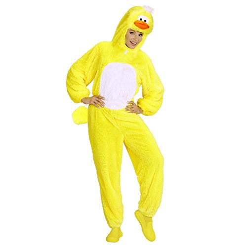 Widmann 97112 Erwachsenen Kostüm Ente, unisex-adult, - Adult Ente Kostüm