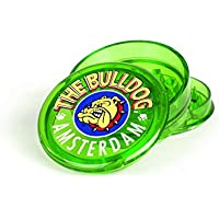 "BULLDOG 2 ""Grinder 3 Pieces Plastico Grinder for Herbs and Spices (5cm, Verde)"