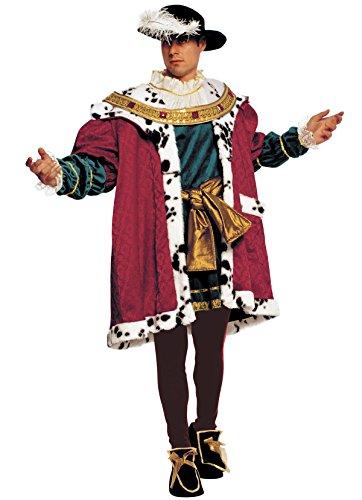 Mittelalterliches Königskostüm Heinrich VIII von (Tudor Kostüm England)